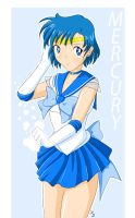 Sailor Mercury by X2ca