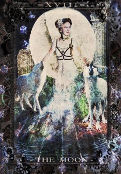 The Moon [Steampunk Tarot] [A] by Can-Cat