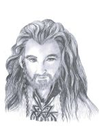 Thorin Oakenshield by LuckyChance07