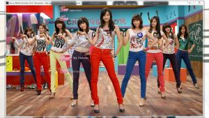SNSD - Gee ver.A PS3 Theme by kenokenopiii