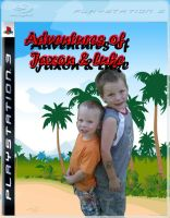 Ps3 Case Adventures of Jaxon And Luke by BlazesCreations