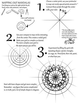 Mapping Out Mandalas Tutorial by ObscureFamous