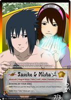 CM: Sasuke and Misha by mongrelmarie