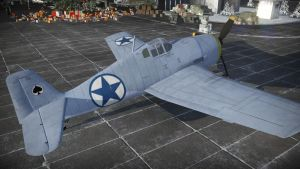 Strike Witches F6F-3 Hellcat skin by Alden-the-Fox