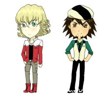 Tiger and Bunny -Chibi by ZymploxX