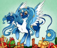 Xmas Commission: Gifts by Pimander1446