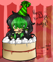 X- HAPPY B-DAY AMBY -X by XUnknownVampireX