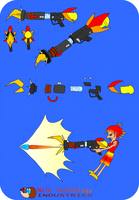 Mole Technology Industries: The Shell Blaster 1000 by mortimermcmirestinks