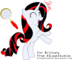 Free OC Vector 10 - Brittany's OC by DILeak