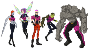 Purple Team by cspencey