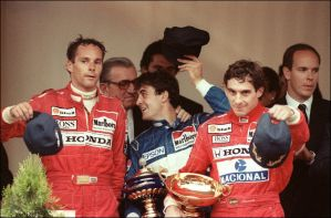 1990 Monaco Grand Prix Podium by F1-history