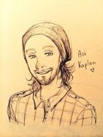 Avi Kaplan sketch by Maliemokono
