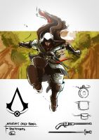 Assassin's Creed Brasil - Bandeirante by thalesmolina