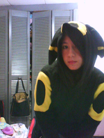 Umbreon Cosplay X3 by Shiro-Redfield