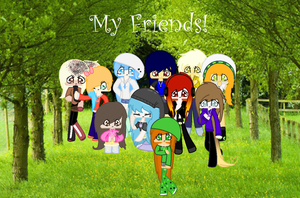 My Friends! by EmeraldSweets