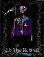 JK The Reaper in Color by ThaMaJesticArtist