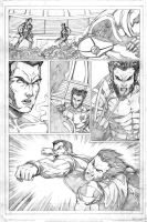 Ultimate X-men page 2 by Elisa-Feliz