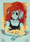 UT: Undy with flowers by ArainMorn
