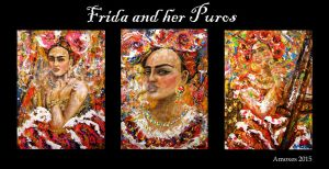 Frida and her Puros full set by amoxes