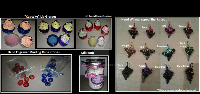 New Etsy store items! by Ittermat