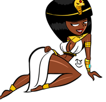 Egyptian Girl by AtomicKingBoo