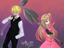 Request - Shizuo n Fem!Russia by AnonAzure
