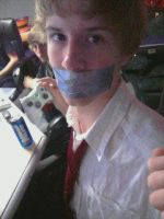 Me, in duct tape xD by Goombaeater411