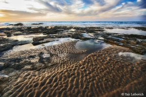 sand patterns by Yair-Leibovich