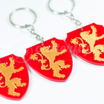 GOT Lannister Keychain by Cutterfly by mAi2x-chan