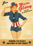 Major Glory Pin Up by DESPOP