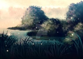 The marshes of Hakkon by MasakoHime