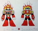 D.M.C. No. 7 - Incinerator Man by Mattzilla527
