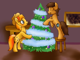 Happy Holidays From BAU and Flankcaster!! by InkBlu