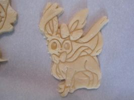 Sylveon Cookie Dough Cut by B2Squared