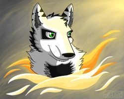 Ghostly Flames by Sludgy