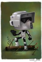 Bubblehead: Biker Scout by JeffVictor
