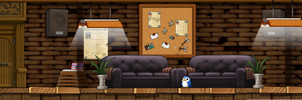 Lounge (Custom Background ) by CorruptedRoses