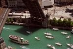 Chicago River with Boats 3; 5-20-95 by eyepilot13