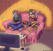 :Commission: Gaming by ElkeCanus