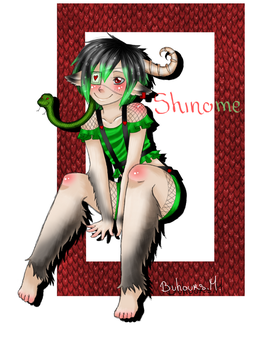 Shinome by Oo-Red-Kitty-oO