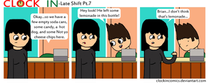 Late Shift Pt.7 by clockincomics