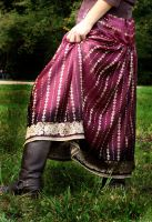 Sari Skirt Western Style2 by leapyearbaby