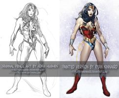 AH WonderWoman paint job by RyanKinnaird