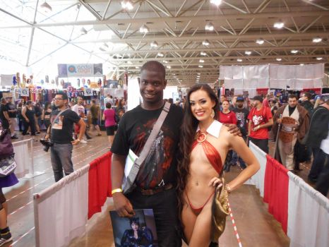 Me And Joanie Brosas At Fan Expo 2016 by xkillerben5798x
