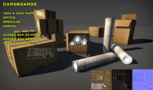 Free Cardboards Pack by Nobiax