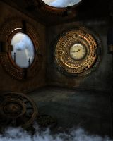 Steampunk Background 3 by Kachinadoll