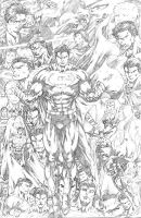 Ediano Silva: World of Superman by comiconart