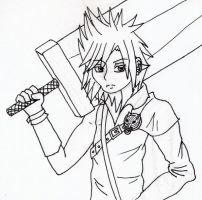 2nd Place Prize!!!Cloud Strife by AyameHikari