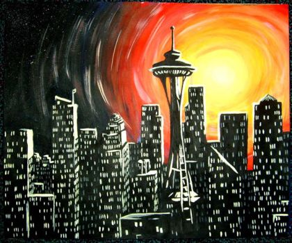 Seattle by youngbadger