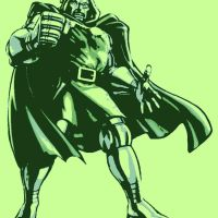 Doctor Doom pop art by DevintheCool